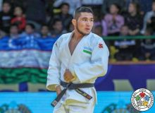 Khikmatillokh Turaev claims a gold medal for Uzbekistan at Paris Grand Slam 2020