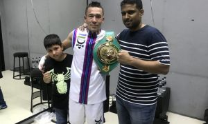Ҳамюртимиз WBC Asia камари сохиби