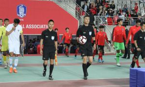 ChineseShen Yinhao to referee Singapore vs Uzbekistan match