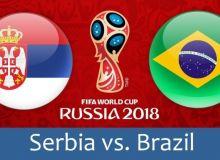 Сербия – Бразилия учрашуви осиёлик ҳакамлар гуруҳига ишониб топширилди