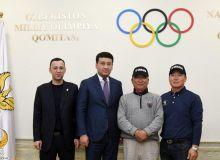 В НОК прошла встреча со специалистом по гольфу из Южной Кореи