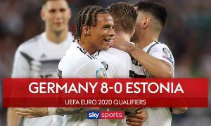Германия - Эстония 8:0 (видео)