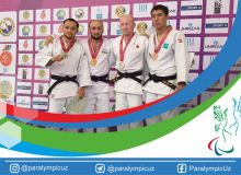 Uzbek athletes start IBSA Judo Asian and Oceanian Championships with 5 medals in Atyrau