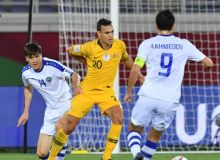Photo Gallery. Australia vs Uzbekistan