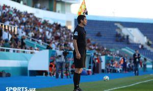 Кубок Узбекистана: Официальные лица матчи 1/4 финала