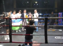 Olimjon Nazarov dominates Thai Chaiwat Buadkratok to defend his WBO Oriental Youth Title