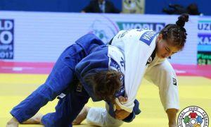 Diyora Keldiyorova picks up a gold medal at the Asia-Pacific Judo Championships Seniors 2019