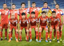 Сборная Таджикистана проиграла сборной Бахрейна