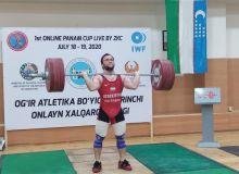Адхам Эргашев продолжил успешное участие наших атлетов