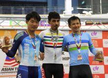 Велоспортсмен Узбекистана стал бронзовым призером ЧА