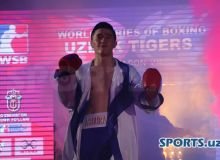 """Боксер команды """"Uzbek Tigers"""" Эльнур Абдураимов отправляется в США"""
