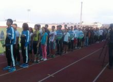 В Намангане прошел турнир по легкой атлетике среди студентов колледжа