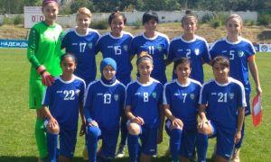 Женская национальная сборная Узбекистана отправила 12 безответных мячей в ворота Таджикистана