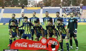 FC Pakhtakor beat FC Lokomotiv to claim a 1-0 win