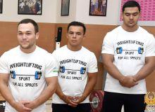 Сбор тяжелоатлетов продолжается в Чирчике