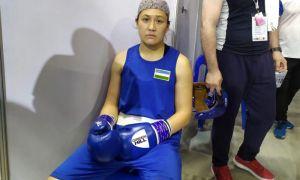 Шахноза Юнусова победила соперницу из Таджикистана