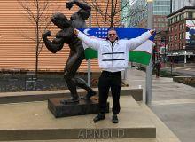Михаил Волынкин стал первым в истории атлетом-победителем из Центральной Азии турнира «Арнольд классик»