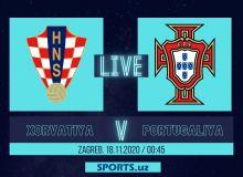 Хорватия - Португалия: Матнли трансляция