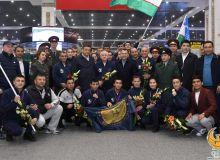 Сборная Узбекистана по боксу вернулась в Ташкент
