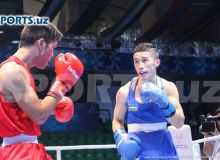 Elnur Abduraimov beats Kazakhstan's Zakir Safiullin to earn the gold for Uzbekistan in Amman