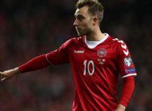 """Daniya Gibraltarni 6 ta gol bilan """"siyladi"""". Eriksendan dubl (video)"""