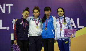 Фехтовальщики Узбекистана завоевали 4 медали на международном соревновании