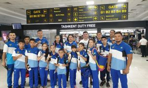 Uzbek athletes leave for the Heroes Taekwondo International Championship Bangkok 2019