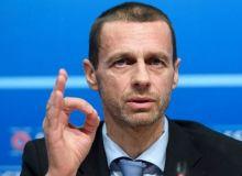 Европада футбол мухлисларсиз давом эттирилиши мумкин. УЕФА президенти бунга шаъма қилди