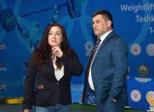 Президент Международной федерации тяжёлой атлетики ознакомилась с подготовкой к чемпионату солидарности