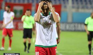 «Андижан» набрал очко в Ташкенте благодаря голу, забитому на последних минутах