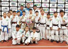 Наши юные дзюдоисты завоевали медали в Беларуси