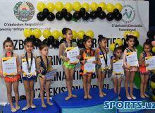 Badiiy gimnastika bo'yicha respublika ochiq turniri bo'lib o'tdi (foto)