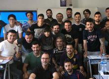 Специалист АФУ проходит обучение на тренерских курсах в Испании