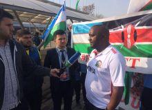 Кения олимпия терма жамоаси Ўзбекистонга етиб келди