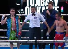 Хуршид Тажибаев нокаутировал своего соперника (Видео)