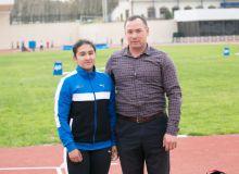 Два рекорда Ригины Адашбаевой и другие результаты чемпионата страны по лёгкой атлетике