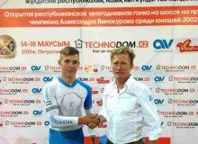 Победа велоспортсмена Узбекистана в Петропавловске