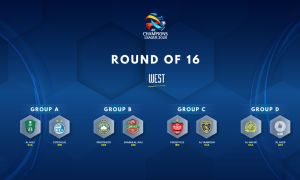 AFC Champions League (West): Round of 16 cast finalised