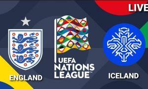 Англия - Исландия: Матнли трансляция
