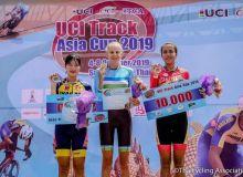Наши спортсмены продолжают покорять кубок Азии по велотреку