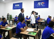 Состоялась церемония открытия центра по подготовке футбольных специалистов