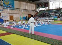 Uzbekistan Karate Championship takes place in Navoi