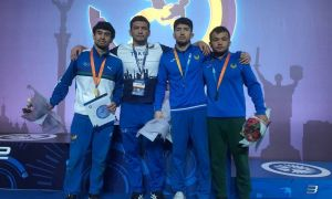 Наши борцы успешно завершили участие в международном турнире