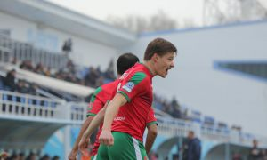 "Суперлига. Погребнякнинг дубли ""Локомотив""га ғалаба келтирди"