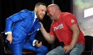 UFC президенти Конор Макрегорнингнинг навбатдаги рақиби ким бўлишини айтди.