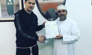 Transfer News. Pavel Purishkin moves to Oman Professional League club Oman FC