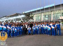 Паралимпийцы отправились на Параазиатские игры в Индонезию