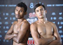 Uzbek Muaythai fighter fights in Thailand