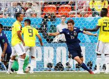 Япония Колумбия устидан ғалаба қозонди