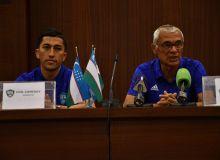 Сегодня состоится предматчевая пресс-конференция Узбекистан - Оман